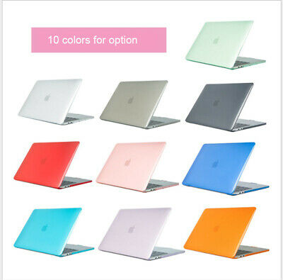 For MacBook Pro 13 15 2020 Air 13 A2179 A1932 Clear Protective Skin Cover Cases • 9.79£