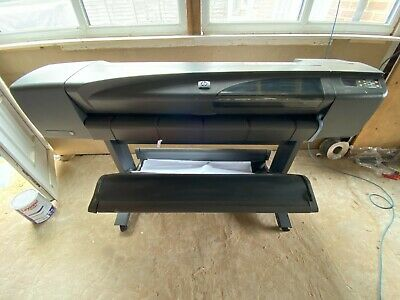 HP DesignJet 800 Plotter Complete With Stand - Full Set Of Inks - Good Condition • 299.99£