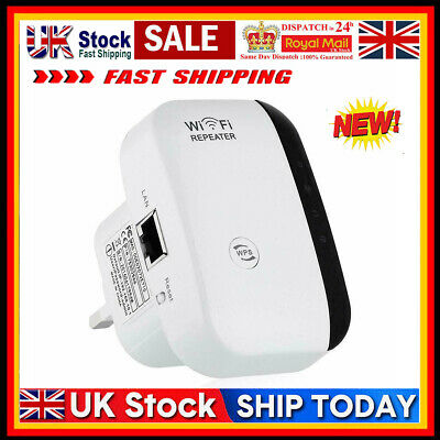 WiFi Repeater Signal Range Booster Wireless Network Extender Amplifiers Hot Sale • 9.19£