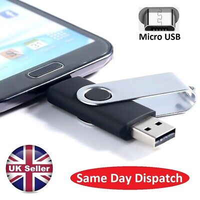 256gb OTG 2 In 1 Photo Stick USB Flash Memory Drive Android/Samsung/Huawei/PC • 9.99£