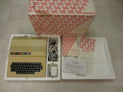 Vintage Dragon 32 With RS232 Serial Interface • 41£