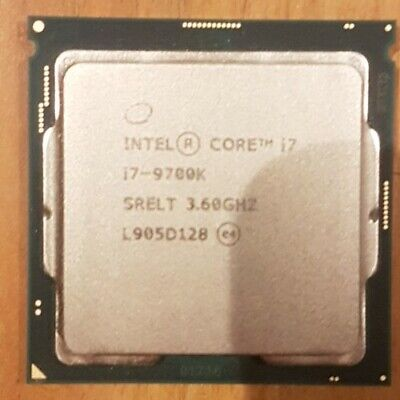 Intel Core I7 9700K - 3.6 GHz Octa-Core (CM8068403874212) Processor • 104£
