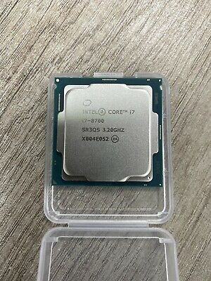 Intel BX80684I78700 I7-8700 3.2GHz LGA 1151 Hexa-core Processor - Tray - No Fan • 165£
