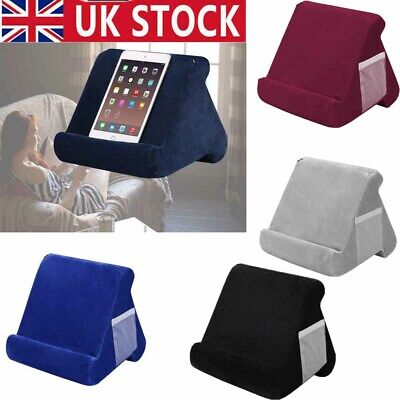 Soft Pillow Lap Stand For IPad Tablet Multi-Angle Phone Cushion Laptop Holder UK • 9.99£