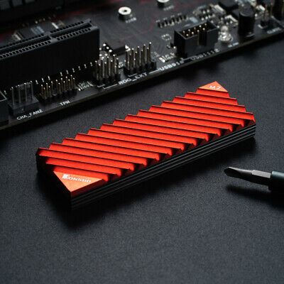 Jonsbo M.2-3 Aluminum Alloy Heat Sink Dissipation Cooling Pads For M.2 2280 SSD • 6.32£