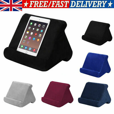 Multi-Angle Soft Pillow Lap Stand IPad Tablet EReaders Magazine Holder Gift • 9.59£