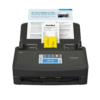 ScanSnap IX1500 Black Document Scanner A4 ADF Double Sided WiFi USB • 341.67£