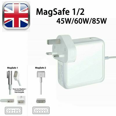 45W, 60W, 85W AC Adapter Power Charger For Apple Macbook Pro Mag Safe 1/2 13  • 13.99£