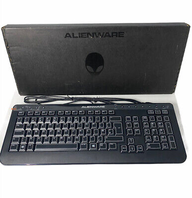 Genuine DELL Alienware USB SK-8165 Keyboard UK QWERTY Layout Brand New  • 14.95£