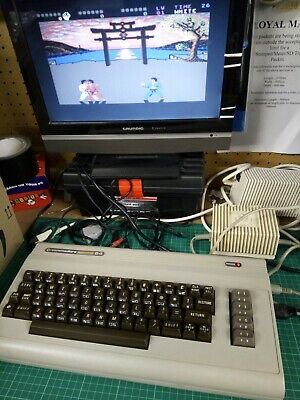 Commodore 64 C64 Personal Computer With PSU *** Tested *** • 51£