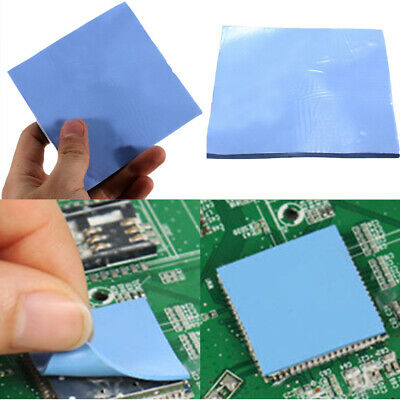 Films CPU Cooling Heatsink For Laptop Sheet Thermal Conductive Silicone Pad • 5.30£