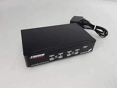 StarTech StarView SV431USB KVM With Cables • 34.99£