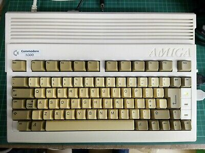 Commodore AMIGA 600 A600 Personal Computer With PSU & Mouse & Game ** Tested ** • 64£