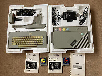 Vintage Atari XE Video Game System / Console, Fully Boxed And Working • 51£