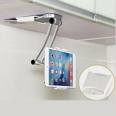 For IPad/iPhone Kitchen Tablet Holder Wall Under Cabinet Bracket Stand Mount • 18.75£