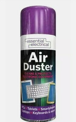 Cheapest 1x Compressed Air Duster Spray Can Clean Laptop Keyboard Mobile 200ml • 4.75£
