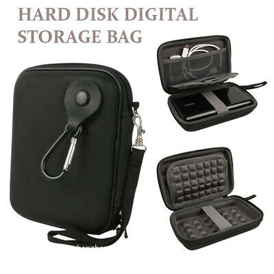 External Hard Drive Disk Case Carry Cover USB Pouch For Western Digital #SUB5 • 9.74£