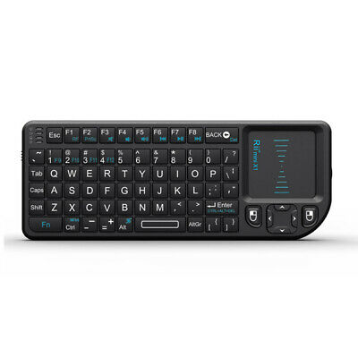 Rii RT-MWK01 2.4GHz RF Mini Wireless Keyboard Bluetooth Touch Pad Mouse - New • 15.99£