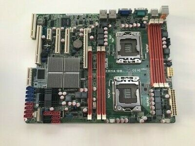 Asus Workstation Motherboard Z8NA-D6 -- Dual Xeon 1366 Socket - USED • 41£
