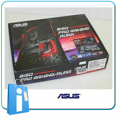 Motherboard ATX ASUS B150 Pro Gaming Aura Socket 1151 With Accessories • 70£