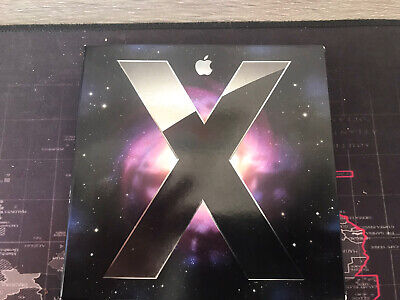 Genuine Apple Mac OS X Leopard  Version 10.5 Boxed Includes Manual Book.  • 8.99£