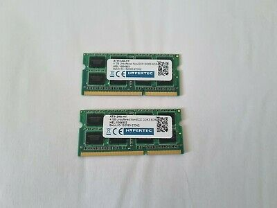 Hypertec AT913AA-HY (2x4GB, PC3-10600 (DDR3-1333), DDR3 SDRAM, 1333 MHz,SO DIMM • 19.99£