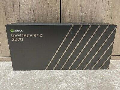 NVIDIA GeForce RTX 3070 Founders Edition Graphics Card 8GB - Brand New ✅ • 700£