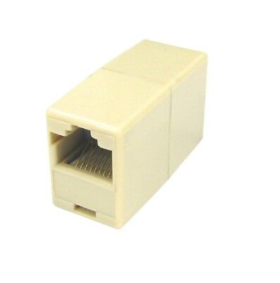 RJ45 Coupler Network Cable Joiner Ethernet LAN Straight *Quality Wired Adaptor* • 1.69£