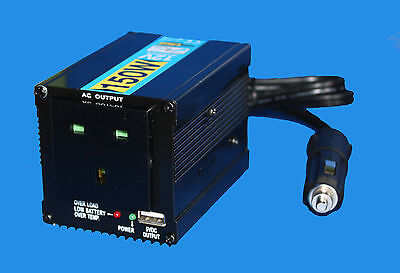 12V Modified Sinewave  150W  INVERTER WITH USB  • 79.99£