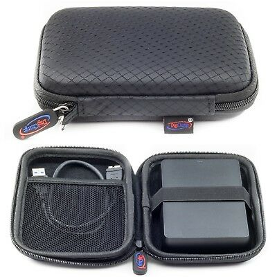 Black Case For Toshiba Canvio Ready External Portable Hard Drive Case HDD 2.5'' • 4.99£