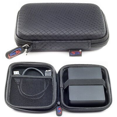 Black Case For WD My Passport Ultra & Elements External Portable Hard Drive Case • 4.99£