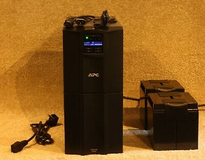 APC Smart-UPS SMT2200i 2200VA - New Cells Installed - 12m RTB Warranty • 385£