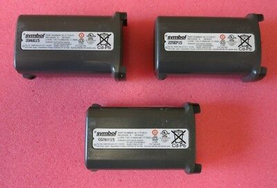 3 X Symbol 82-111734-01 7.4V 2400mAh Li-Ion Battery For Symbol MC90-XX Series • 30£