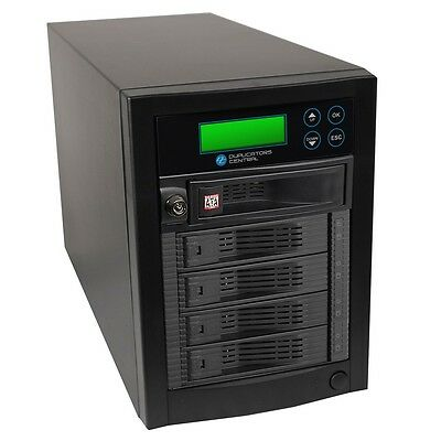 1 To 4 Targets Multiple SATA Hard Drive HDD & SSD Memory Card Copier Duplicator • 772.03£
