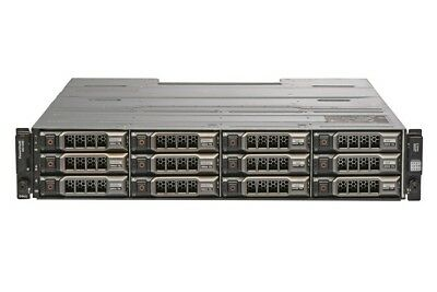Dell PowerVault MD1200 Storage Array With Dual Controller + 2x PSU + 10x 4TB HDD • 1,800£