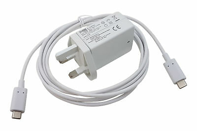 For Apple MacBook 12  A1534 USB-C USBC 45W Charger (Replaces 29W) Laptop Type C • 14.99£