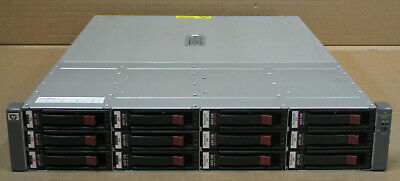 HP MSA60 Modular Smart Array 2U 6.3TB HDD SAS 15K 399049-001 418408-B21 • 600£