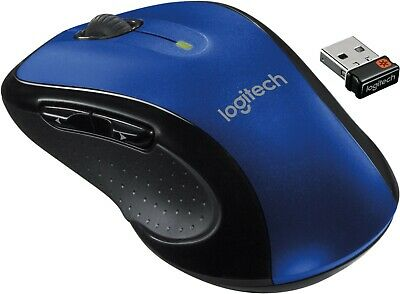 Logitech M510 Full Size Laser Wireless Mouse USB Receiver Unifying • 23.99£