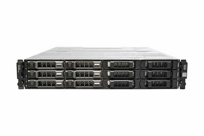 Dell PowerVault MD1200 6x 6TB 3.5  HDD Dual 6G SAS Controllers Dual 600W PSU • 1,128£