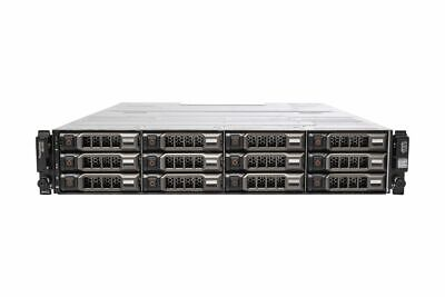 Dell PowerVault MD1200 12x 300GB 3.5  HDD Dual 6G SAS Controllers Dual 600W PSU • 828£