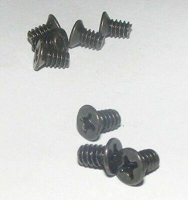 8 UNC 6-32 Black Nickel Screws 3.5  Hdd Hard Drive Advent Alienware Apple • 1.39£