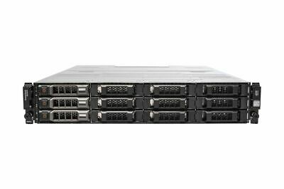 Dell PowerVault MD3200 3x 3TB 3.5  HDD 2x 6Gbps SAS Controllers 2x 600W PSU • 1,050£