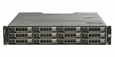 Dell PowerVault MD3200 12x 1TB 3.5  HDD 2x 6Gbps SAS Controllers 2x 600W PSU • 1,344£