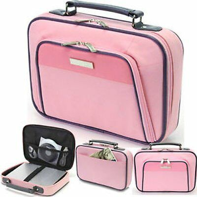 Dicota Base 11.6  Mini Laptop Bag Netbook Tablet Carry Case With Handle Pink New • 8.99£