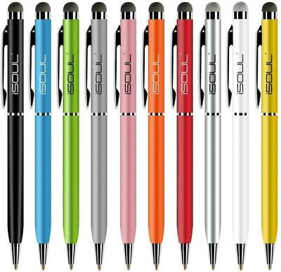 10 Pack  Touch Screen Pen Stylus Touch Pen For Samsung Galaxy Tablet IPad IPhone • 4.45£