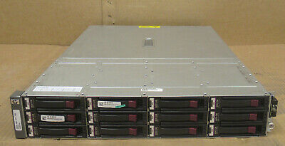 HP MSA70 Modular Smart Array 10 X 600GB 15K 517354-001 399049-001 418800-B21 • 480£