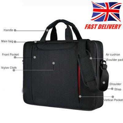Slim 15.6 Inch Laptop Bag Carry Case For Dell HP Acer Asus Samsung Notebook UK • 11.50£