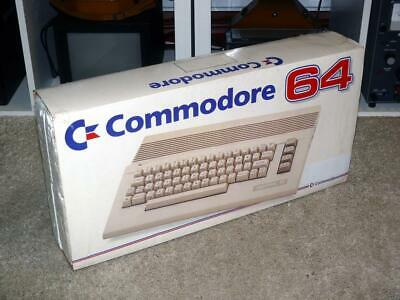 Boxed Commodore 64 / C64C Computer ~ Fully Working / Nice Condition • 199.99£