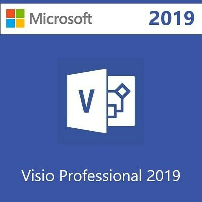 Microsoft Visio Professional 2019 License Key 5 PCs With Download Link 🔥 • 3.87£