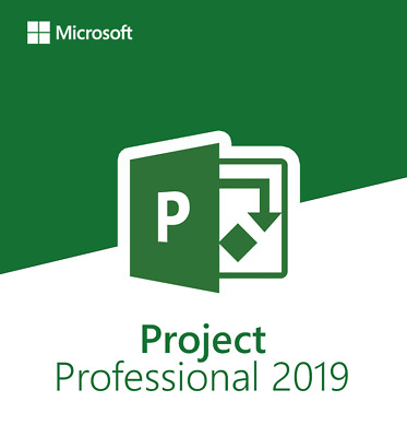 Instant 5PC's - Official Microsoft Project Professional 2019 + Download Link! • 3.99£